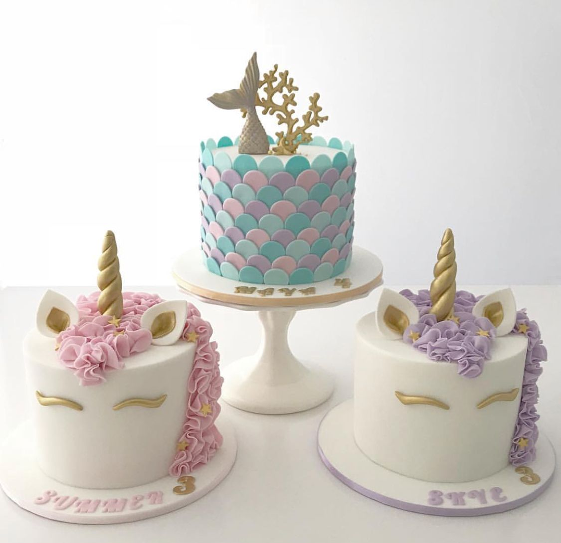 Mermicorn Cakes Mermicorn Birthday Party Pinterest