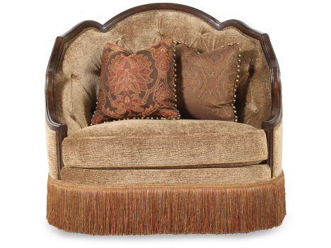 RC GEENA/CHAIR   Rachlin Classics Geena Chair | Mathis Brothers Furniture
