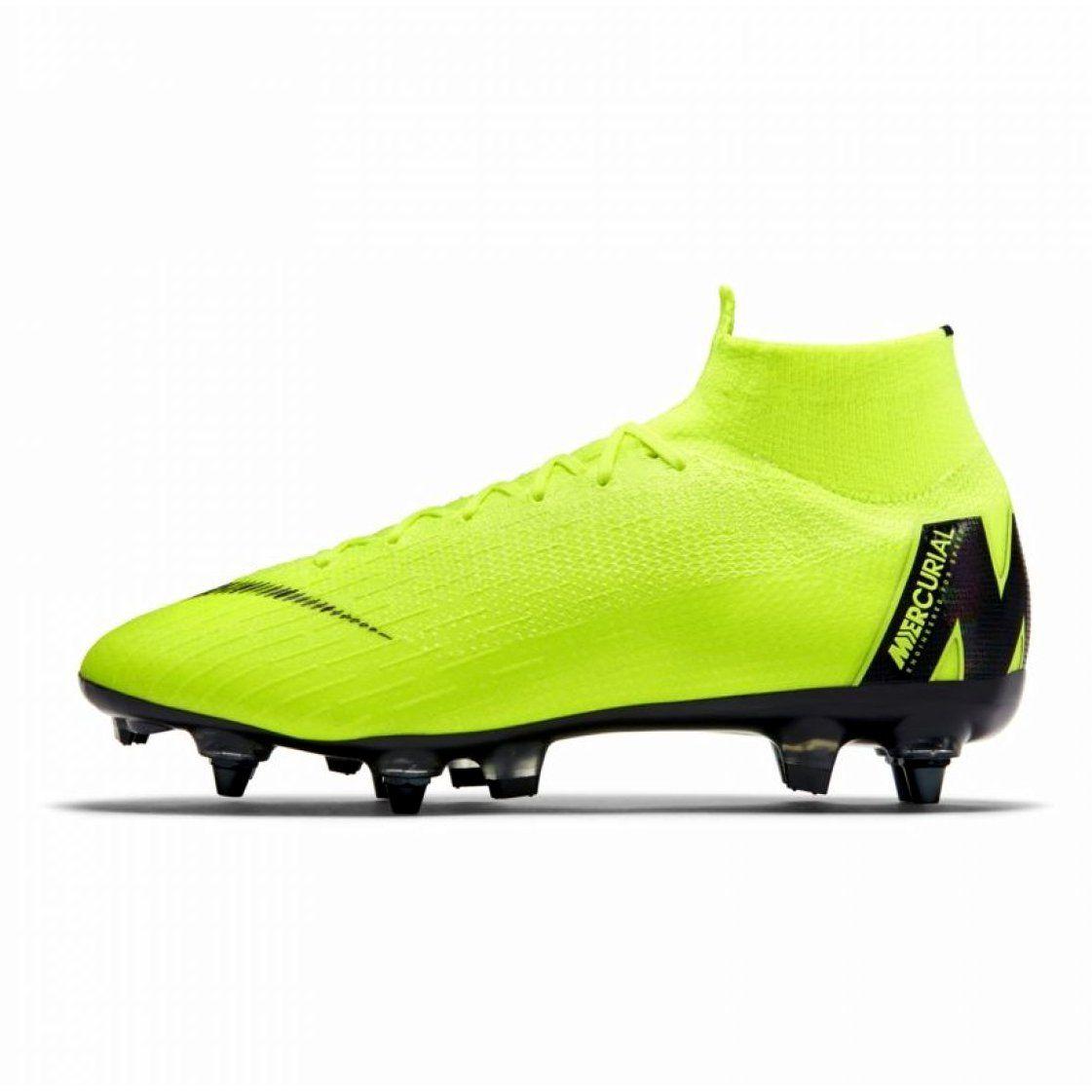 Buty Pilkarskie Nike Mercurial Superfly 6 Elite Sg Pro M Ah7366 701 Zielone Zielone Football Boots Mens Football Boots Football Shoes