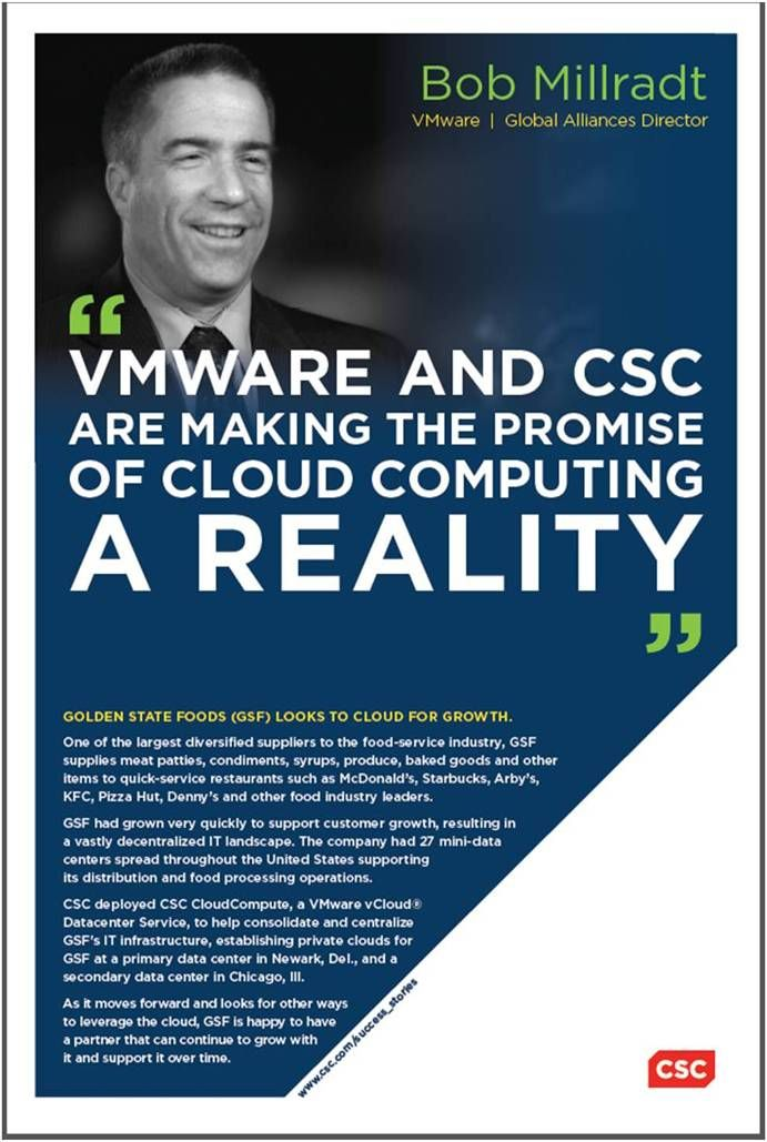 VMware and CSC are making the promise of cloud computing a reality