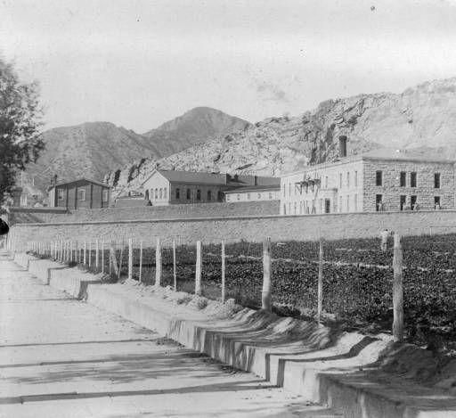 Canon City Colorado Penitentiary Buildings Western History 1893 1800 1900 Canon City Colorado Carbondale Colorado