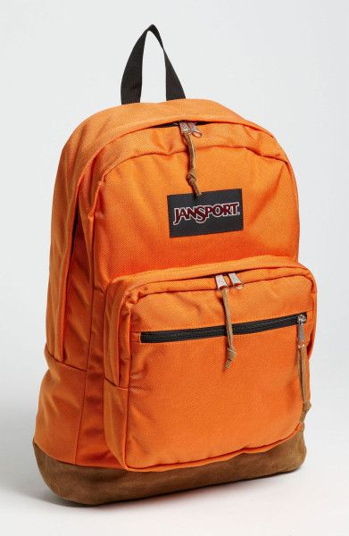 jansport backpack orange | Jansport Right Backpack in Orange for ...