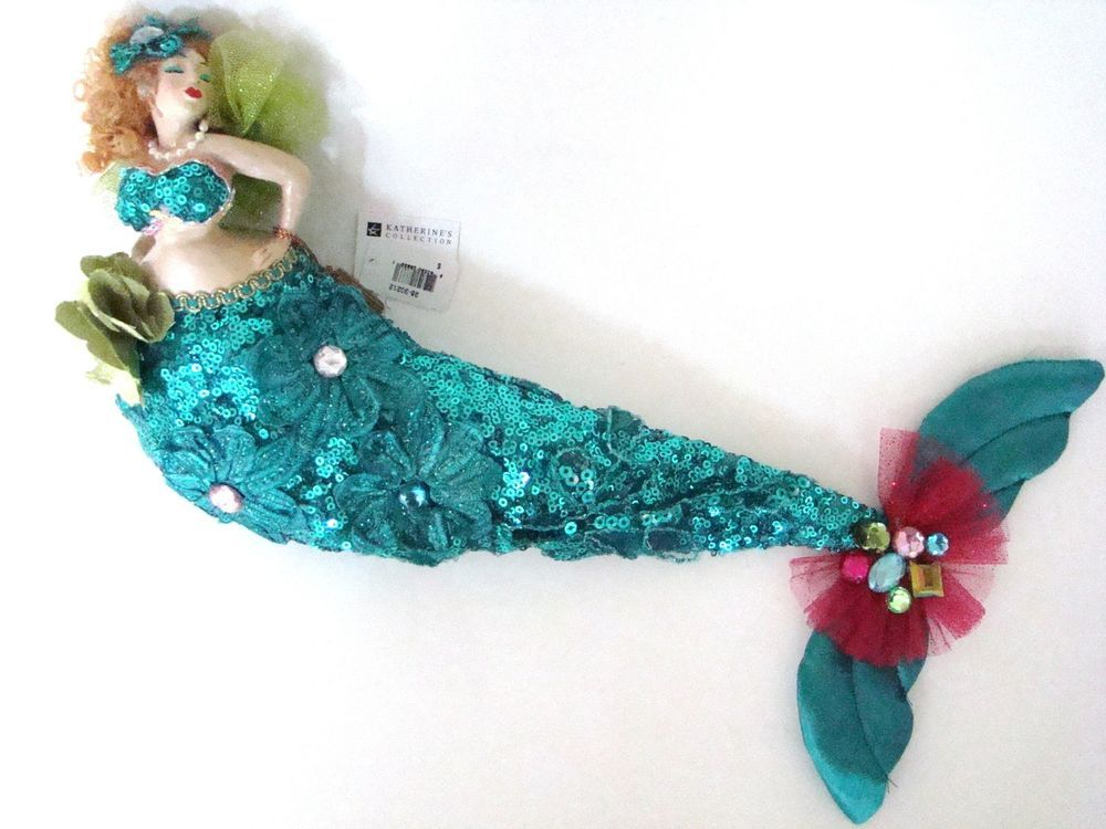 Magnificent Katherines Collection Kissing Mermaid Bean Bag Doll In Machost Co Dining Chair Design Ideas Machostcouk