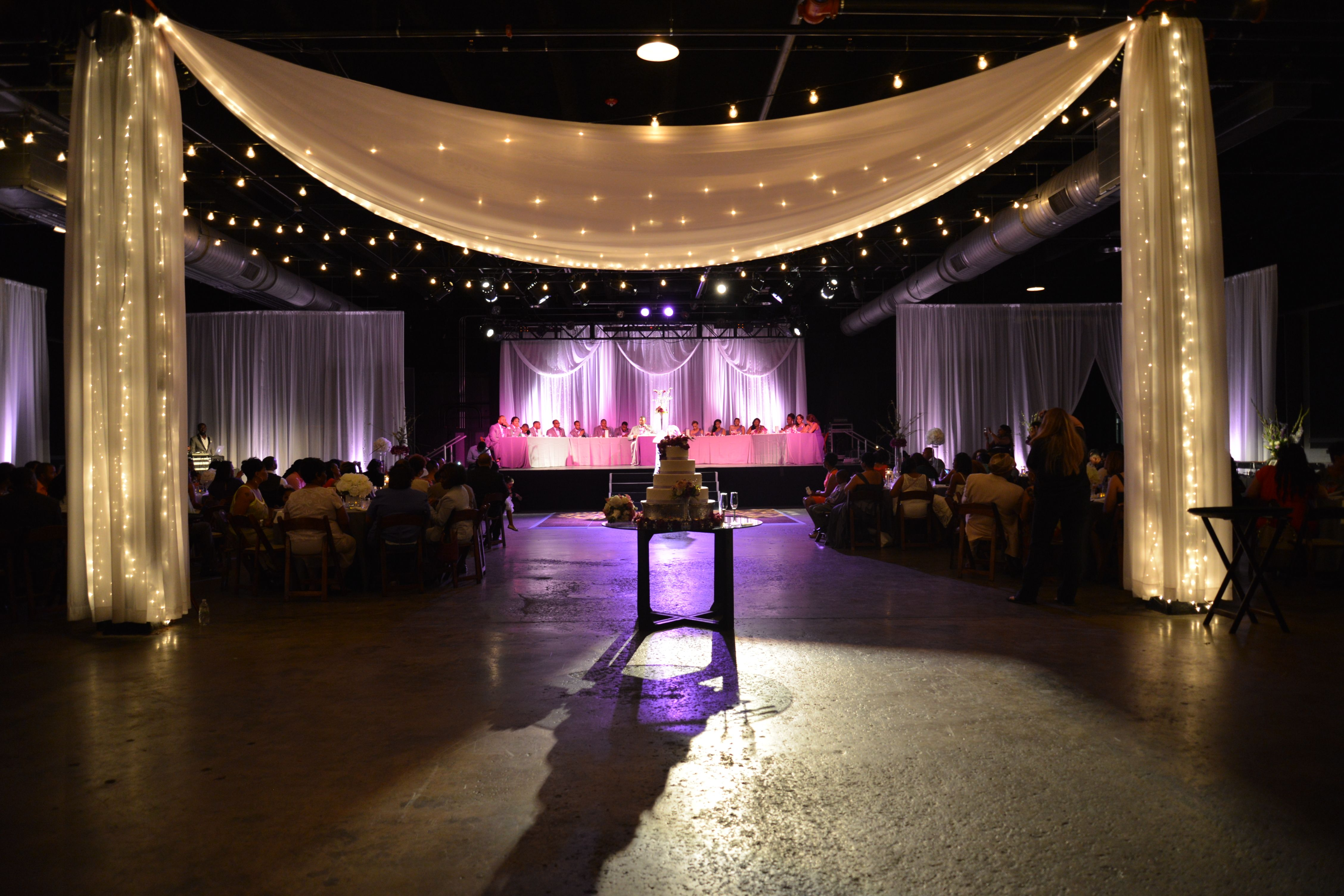 What Can Drapery Mood Lighting And A Cohesive Design Do For Your Wedding Learn With Debbie Of Nashville Event Company Events Plus