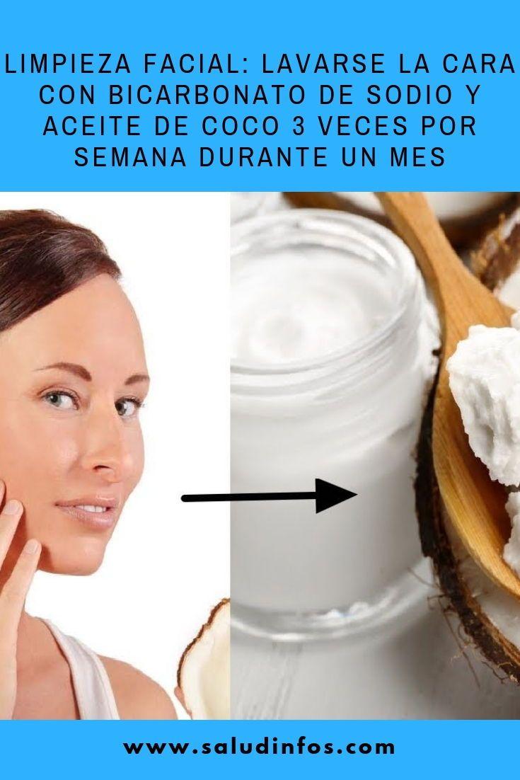 Limpieza Facial: Lavarse La Cara Con Bicarbonato De Sodio ...