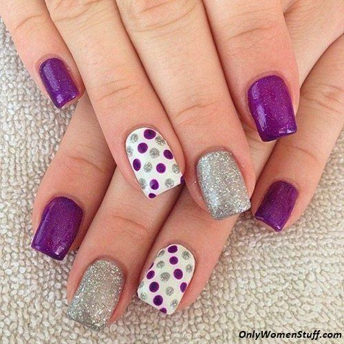 Nail Art For Beginners Without Tools: 15 Easy And Simple Nail Art Designs For Beginners To Do At