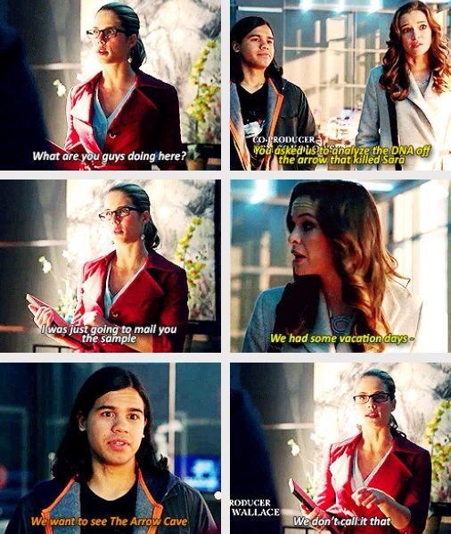 Arrow - Cisco, Caitlin and Felicity #3.8 #Season3