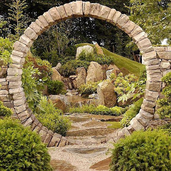 Japanese Garden Indoor: Garden Gates, Chinese