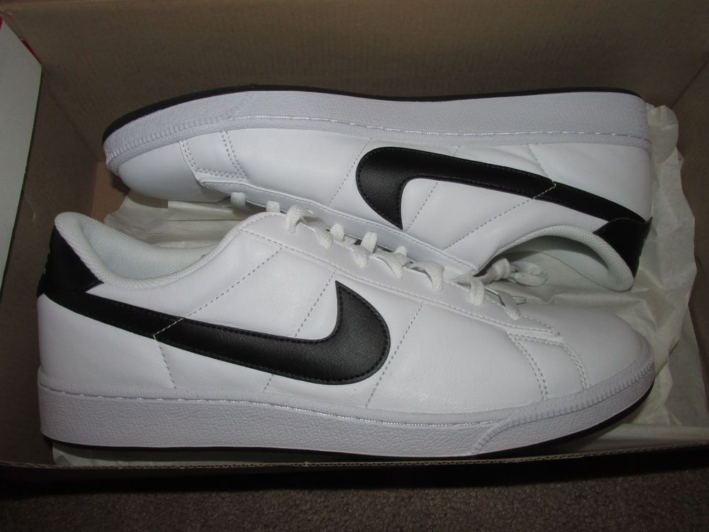 huge selection of c5dc1 9a767 Nike Tennis Classic Mens Shoes 9.5 White Black 312495 129  Nike  Casual