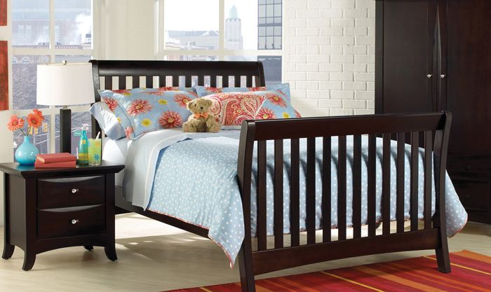 Urban Crib Converted To Full Bed Crib Nursery Baby Munire Georgiababy Atlanta Furniture Childrens Furniture Cribs Full Bed