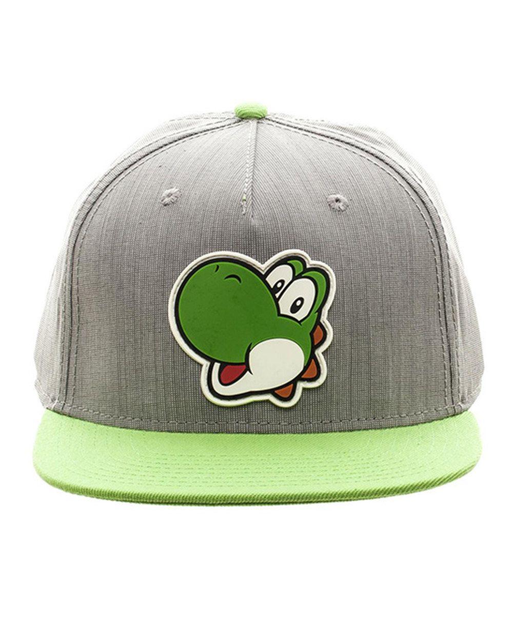 Look at this Super Mario Bros. Gray & Green Yoshi Snapback