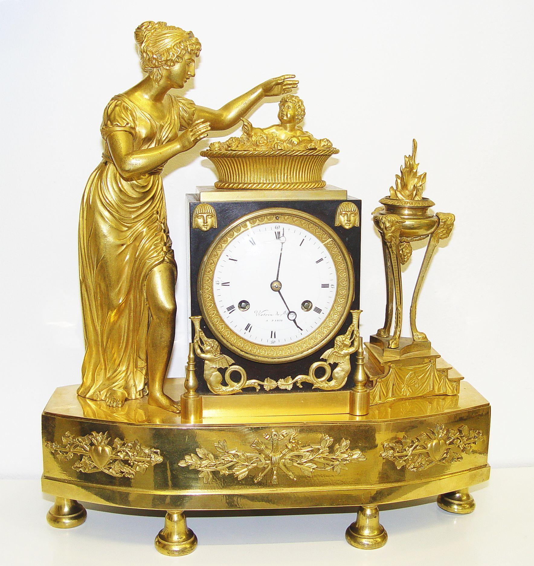 Reloj imperio francia alrededor de 1800 orologi for Mobili antichi 1800