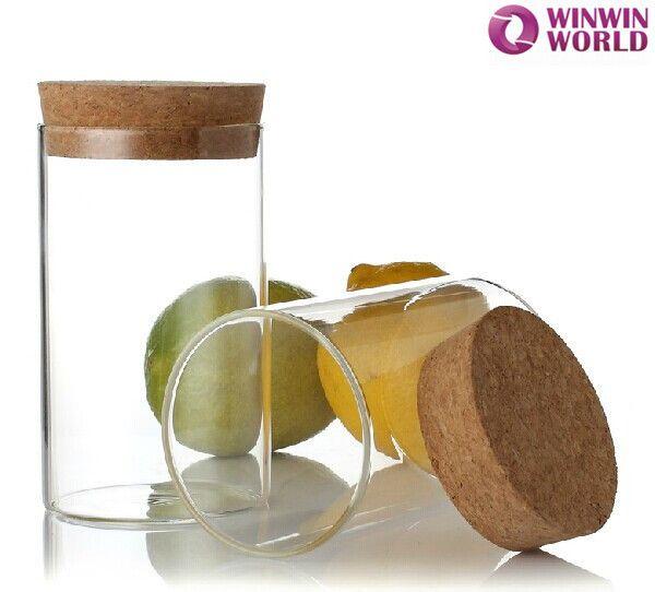 Wholesale 500ml Eco Friendly Clear Hermetic Glass Jar With Cork Lid Buy Hermetic Glass Jar Eco Friendly Hermetic Glass Jar Storage Canisters Glass Jars Glass