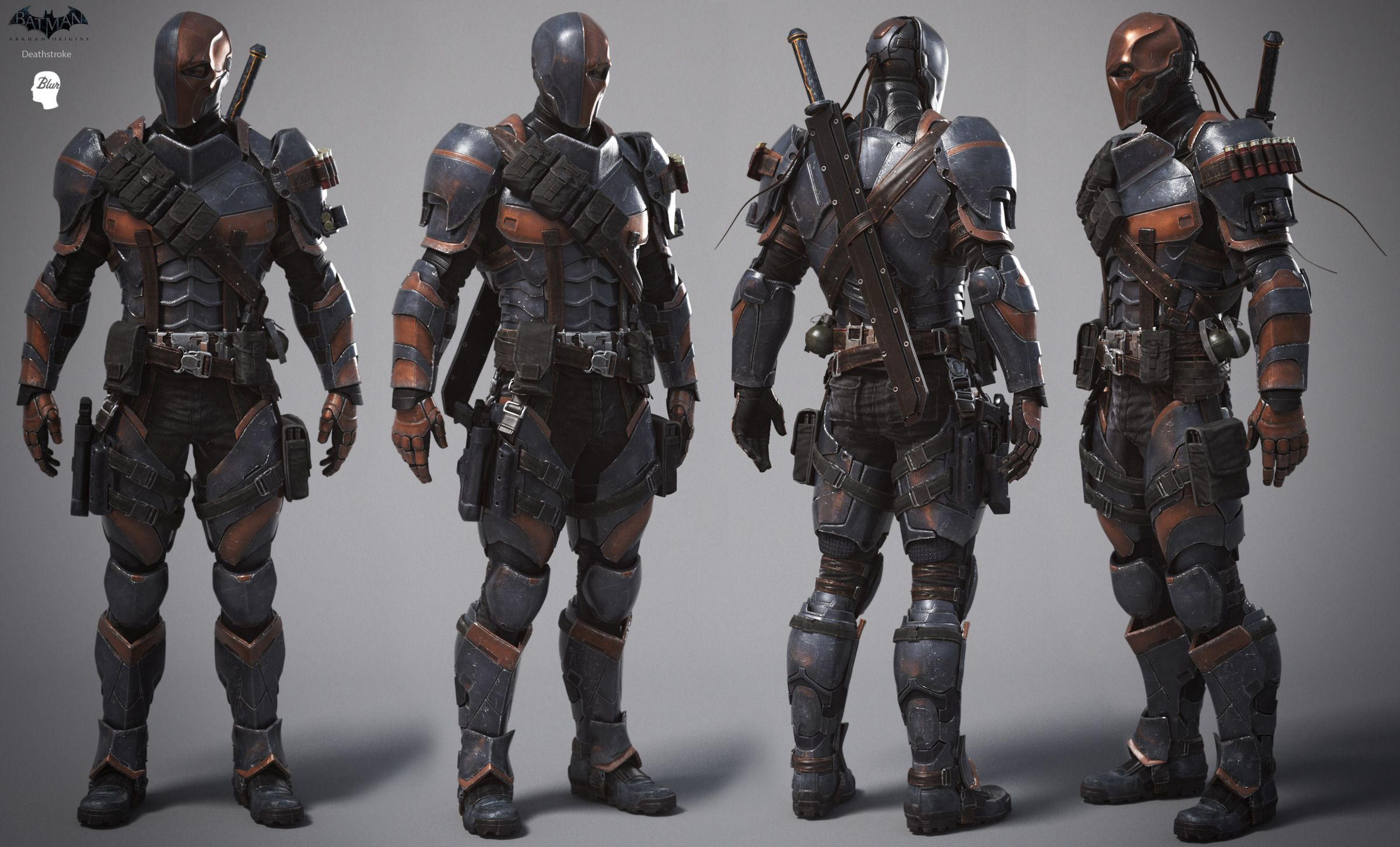 Deathstroke's Mask Beed46dc349b82b644d6d90a39bd0e2e