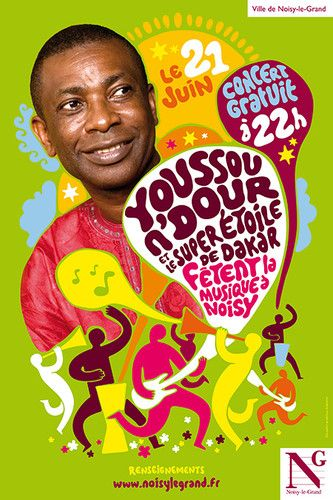 Image result for youssou n'dour poster