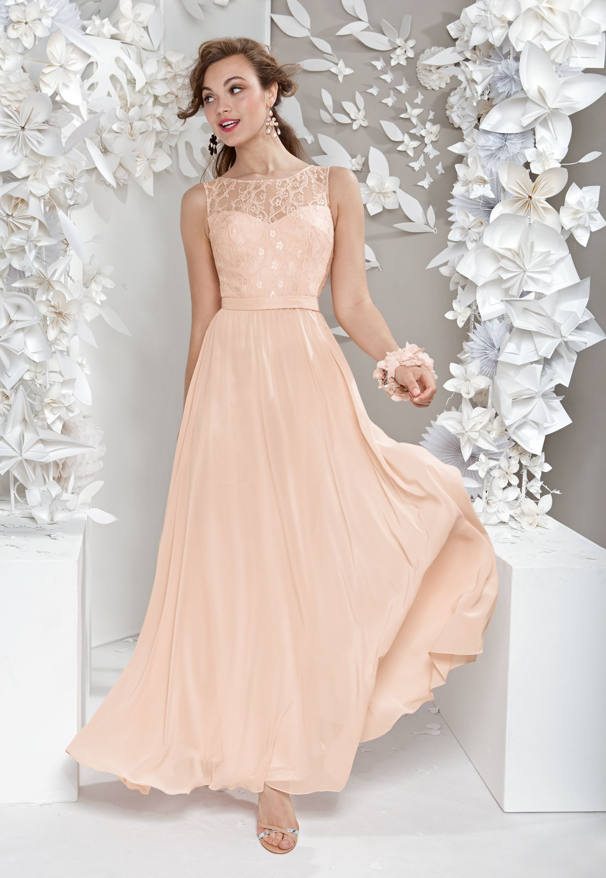 LAONA Maxi Chiffon Dress *Diese Maxikleid von LAONA vereint ...