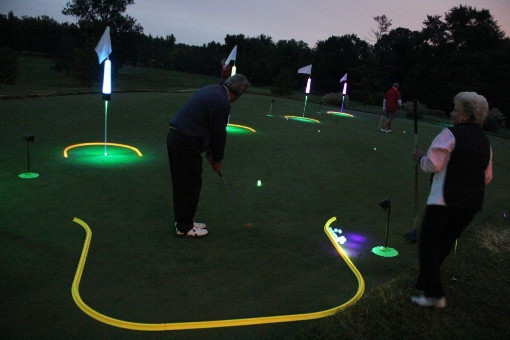 How to create a golf skills competition day or night