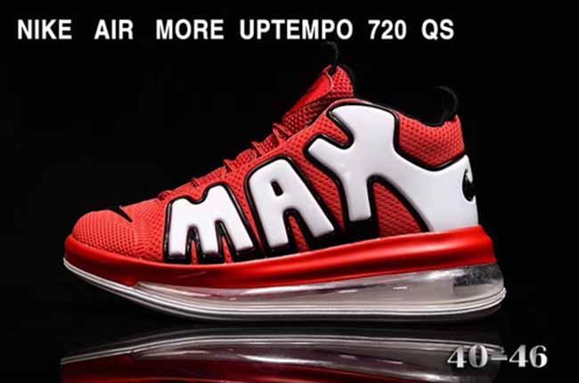 Nike Air More Uptempo 720 Nike Air More Uptempo 720 red