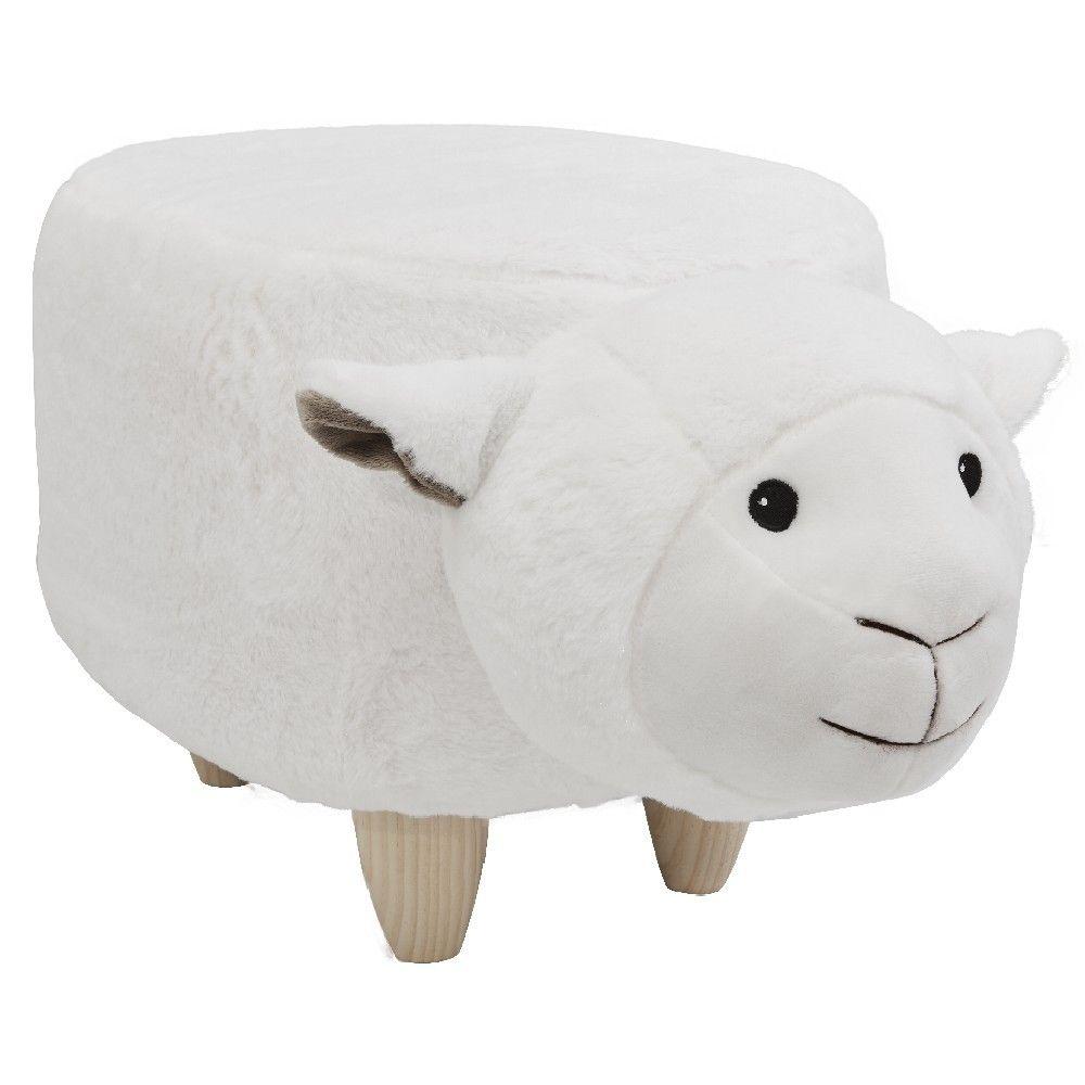 Pouf Tabouret Mouton Pouf Enfant Pouf Tabouret