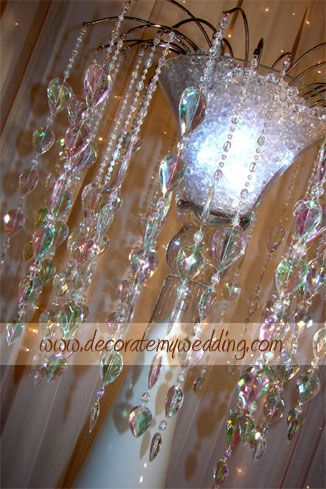 DECORATE MY WEDDING Caribbean Blue And Snowflakes Wedding Reception Decorations Themed
