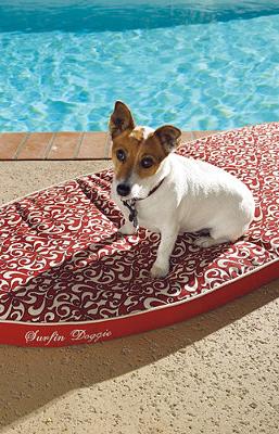 Indoor/Outdoor Surfin' Doggie Pet Bed Frontgate Pets
