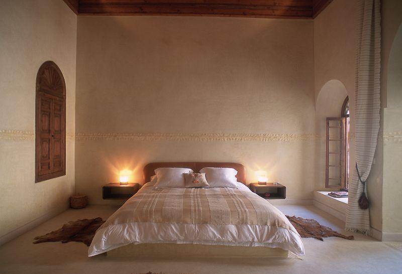 Rp El Fenn Hotel Marrakech Morocco Cedar Beam Ceiling