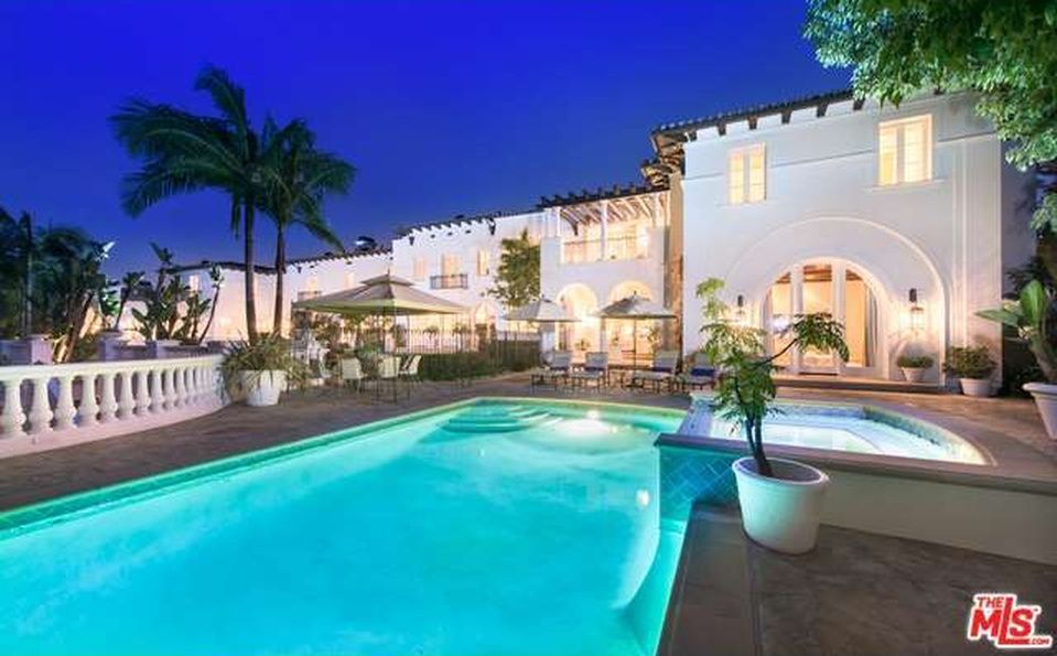 Beverly Glen Home For Sale Holmby Hills California Homes Pool