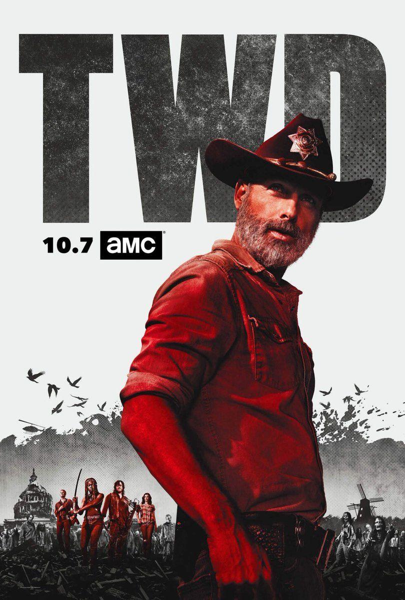The Hat With Badge Is Back Walking Dead Season Walking Dead