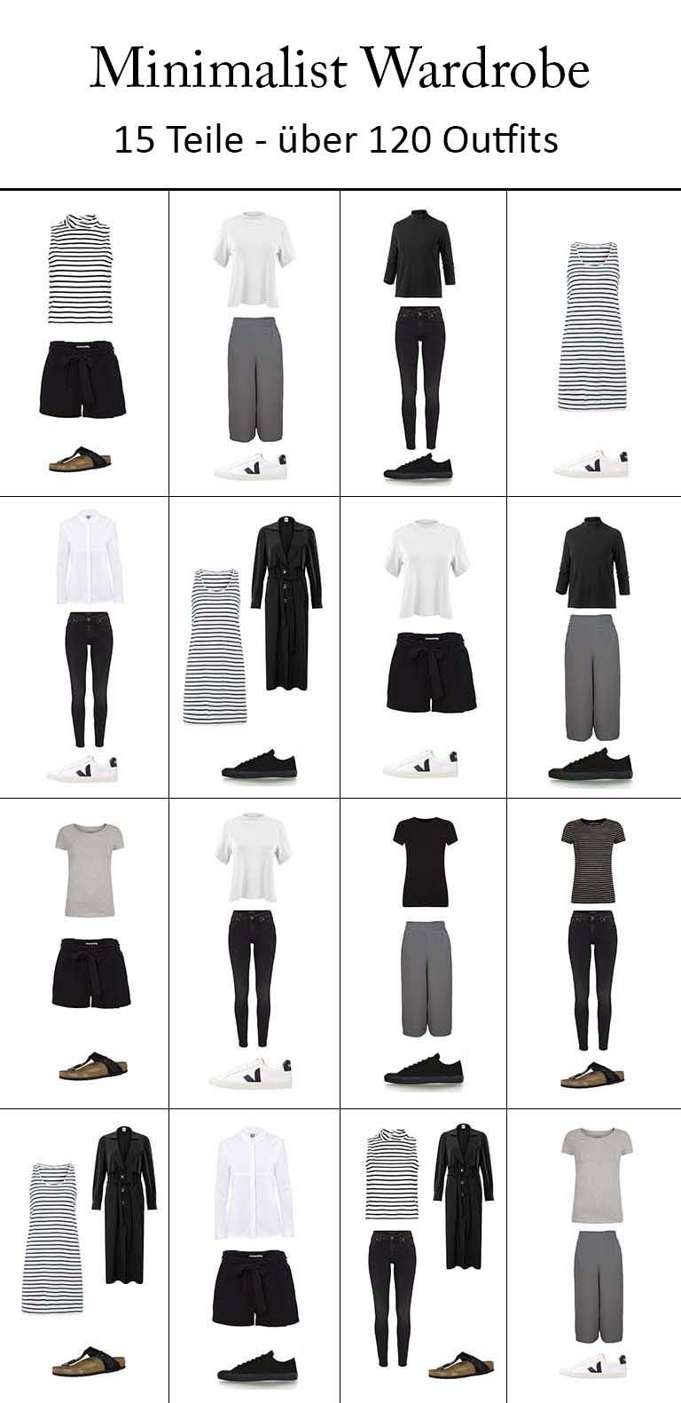 Minimalismus im Kleiderschrank - Capsule Wardrobe x Fair Fashion ...