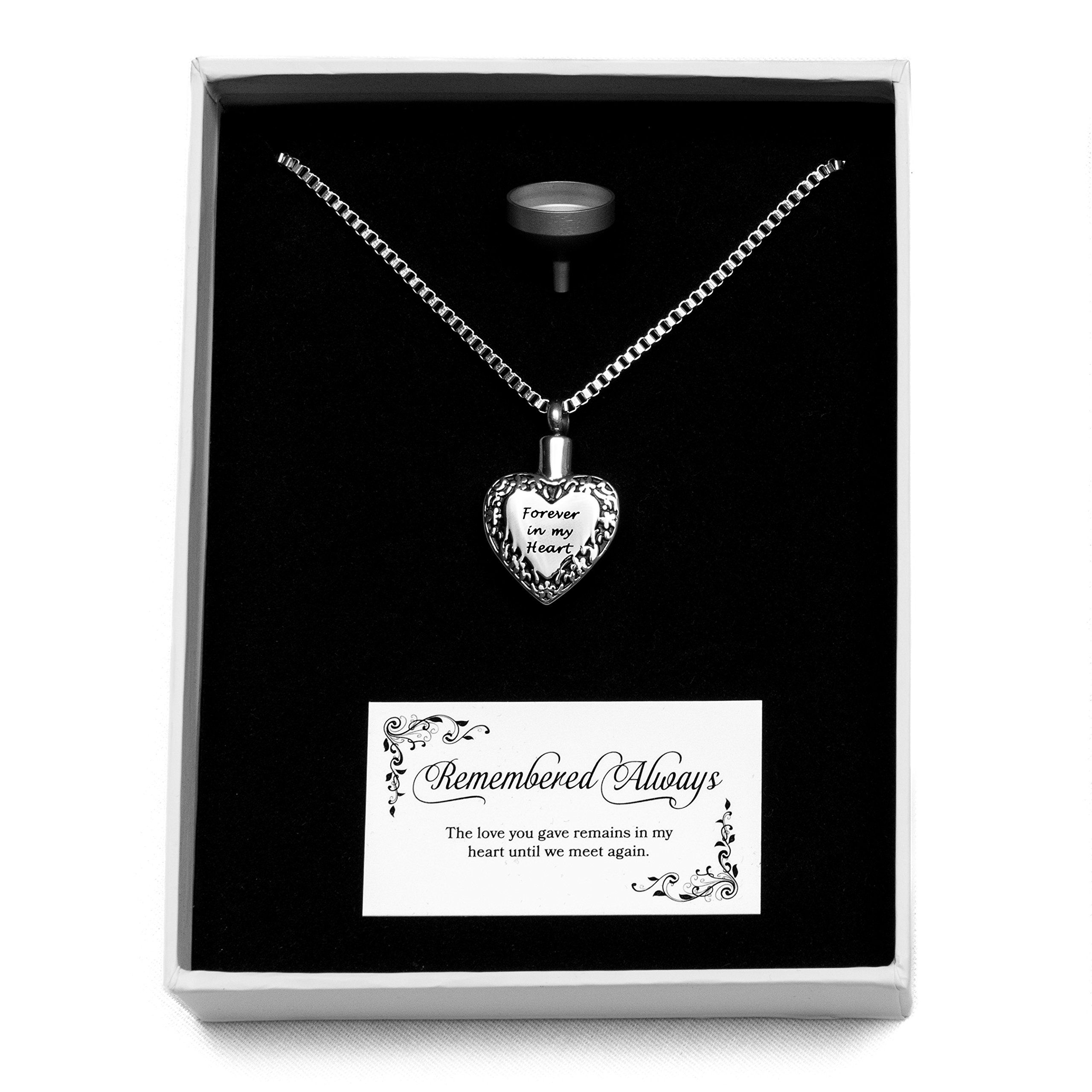 Pet Memorial Jewelry Stainless Steel Cremation Urn And Funnel Will Help Me Cope With The Loss Of Chase All My Do With Images Pet Memorial Jewelry Memorial Jewelry Jewelry