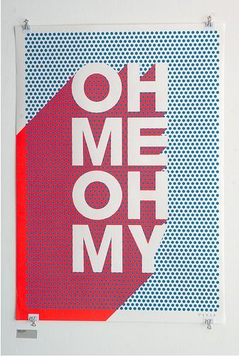 oh me oh my / typography / http://designspiration.net/image/1482703889822/