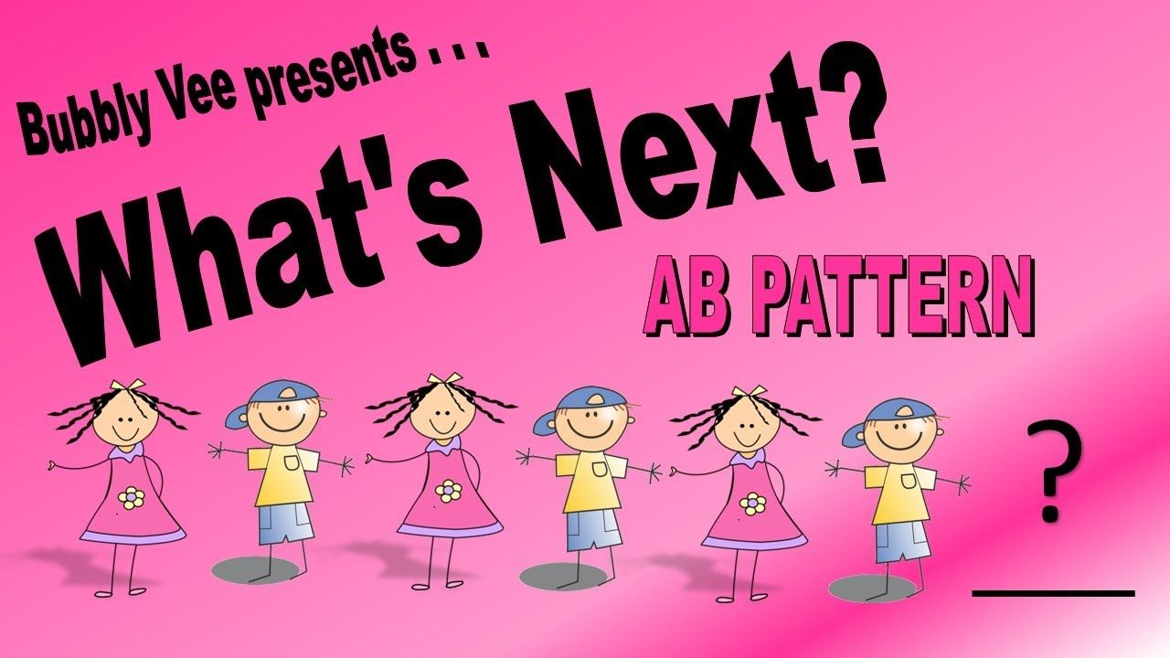Learning Ab Patterns What S Next Part 3 Ab Patterns Abs Math Videos [ 720 x 1280 Pixel ]