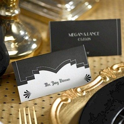 Marvelous Deco Design Place Card Wedding Accessories Pinterest