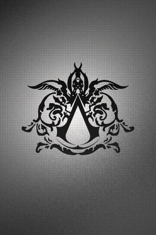 symbol assassins creed logo iphone wallpaper