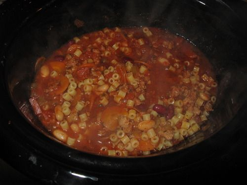 Dash Diet Friendly Pasta Fagioli Om Nom Nom Sees Dash Diet