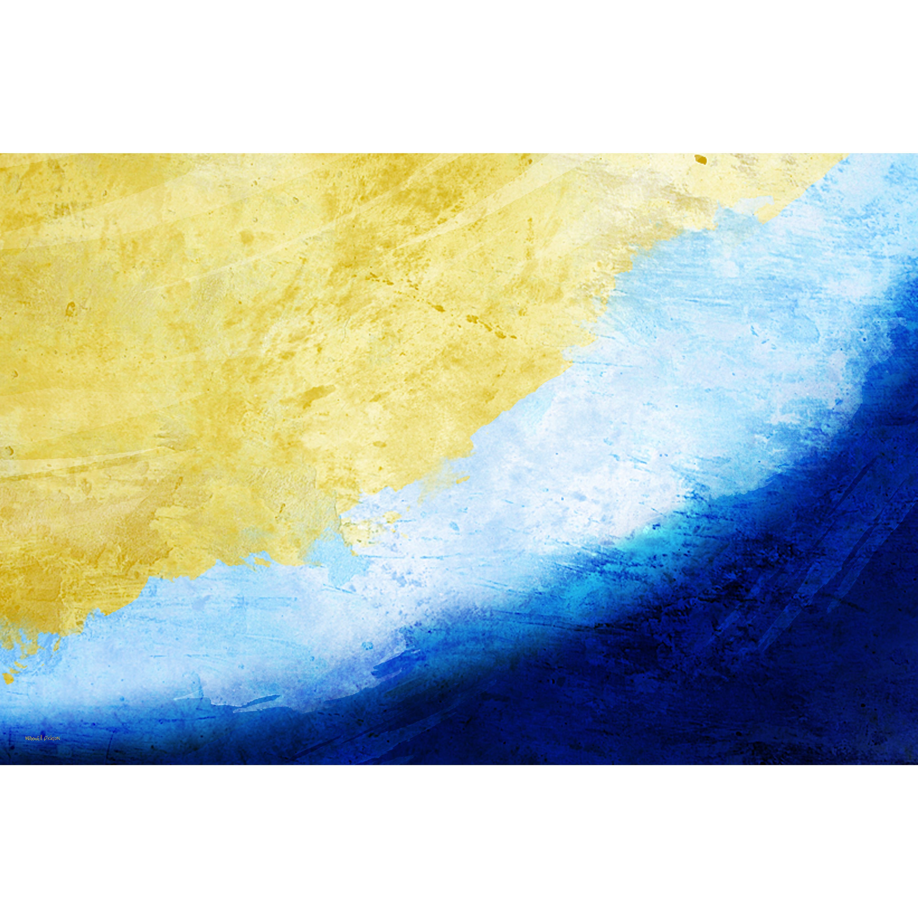 Generous Blue Canvas Wall Art Gallery - The Wall Art Decorations ...
