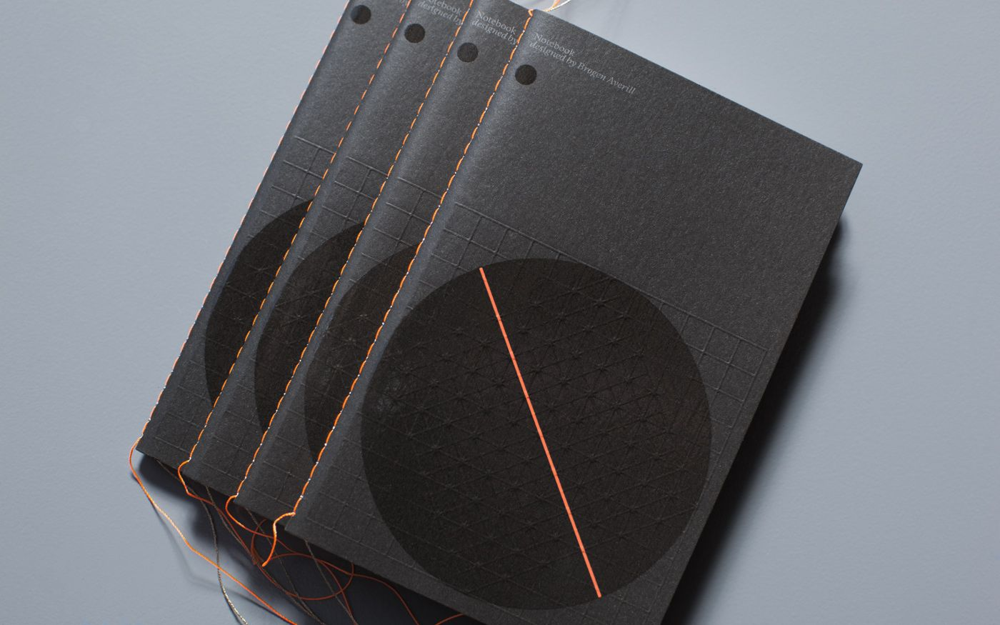 Brogen Averill notebook. Can't beat a bit of embossing and orange/black combo