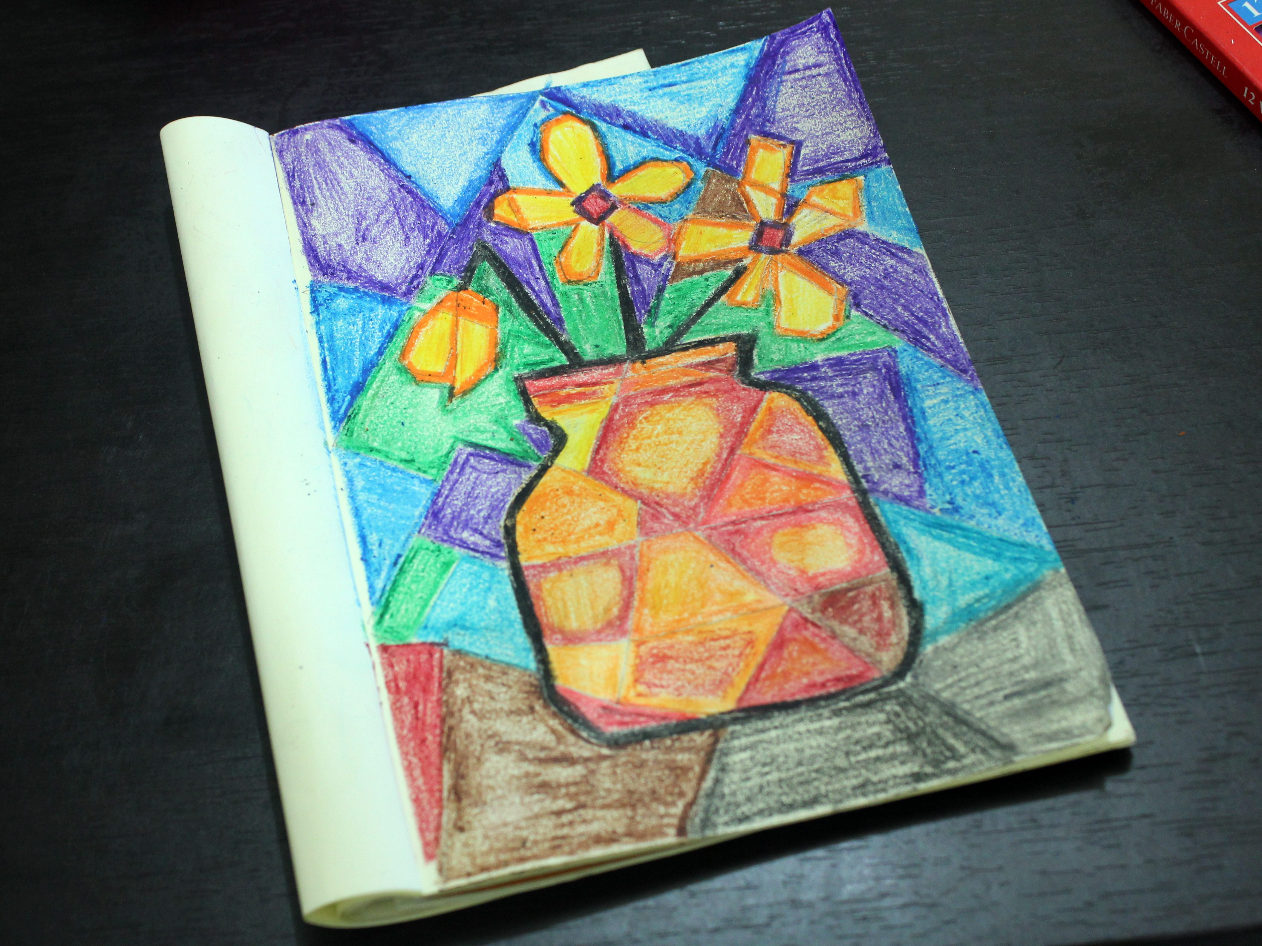 Do A Cubist Style Painting