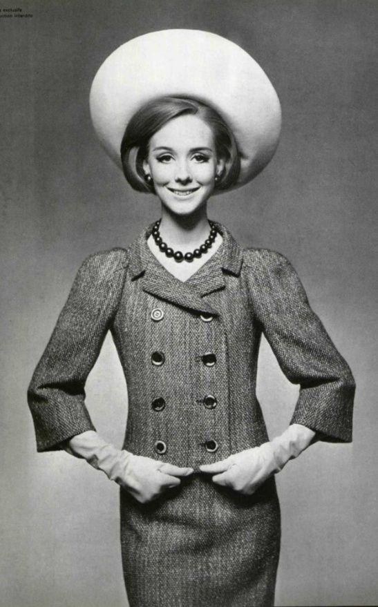 1963 Dior suit