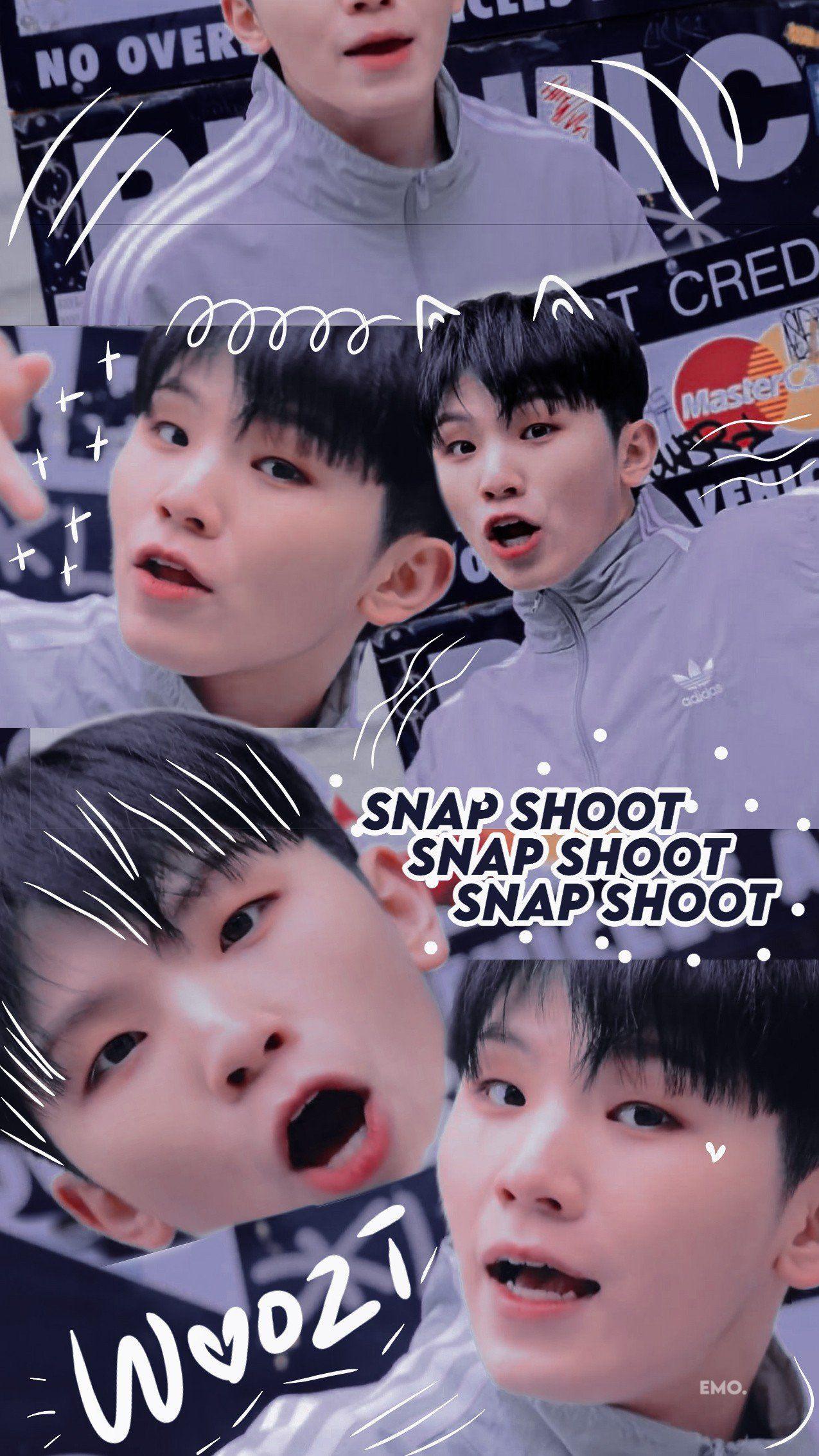 Seventeen Aesthetic Snap shoot Special Video Wallpaper lockscreen ©️bucinyameanie.  Follow her on twitter💗 #snapshoot #seventeenwallpaper #seventeen #woozi #jihoon #우지 #지훈 #세븐틴 #sebong #セブチ #ウジ #李知勳
