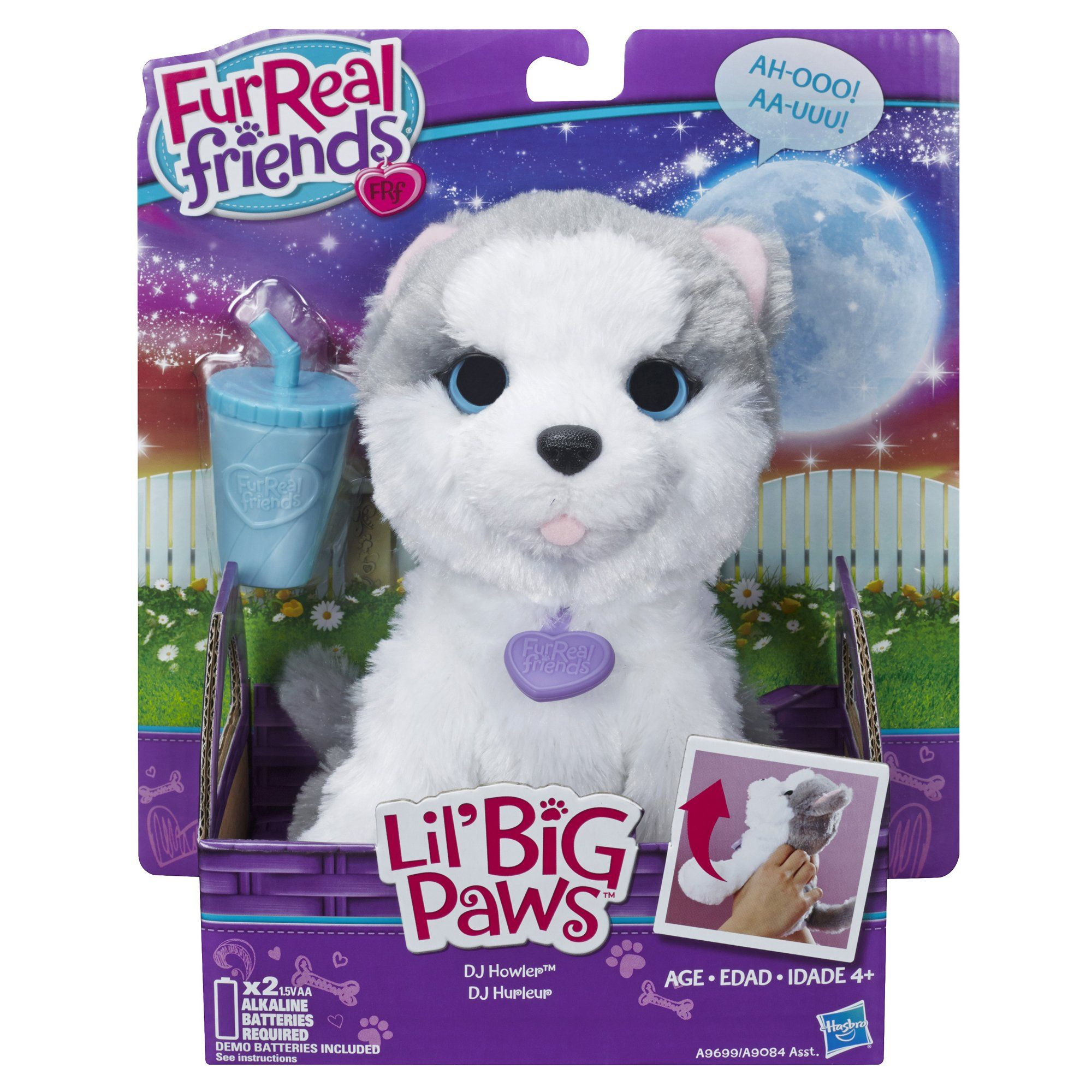 Amazon Com Furreal Friends Li L Big Paws Dj Howler Pet Toys Games Fur Real Friends Baby Girl Toys Baby Doll Accessories