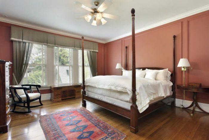 33 RUSTIC WOODEN FLOOR BEDROOM DESIGN INSPIRATIONS | Flooring Ideas, Wood  Flooring And Bedrooms