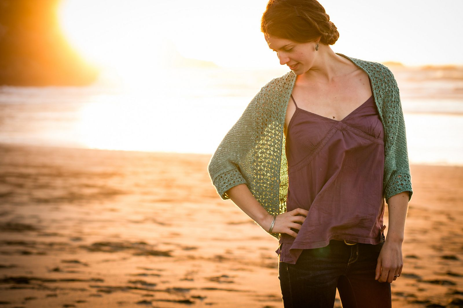 Ravelry: Avana pattern by Annie Rowden in red jaeger trinity?