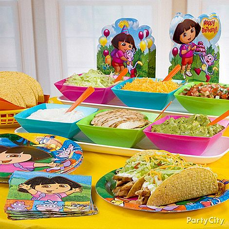 Dora Party Food Ideas
