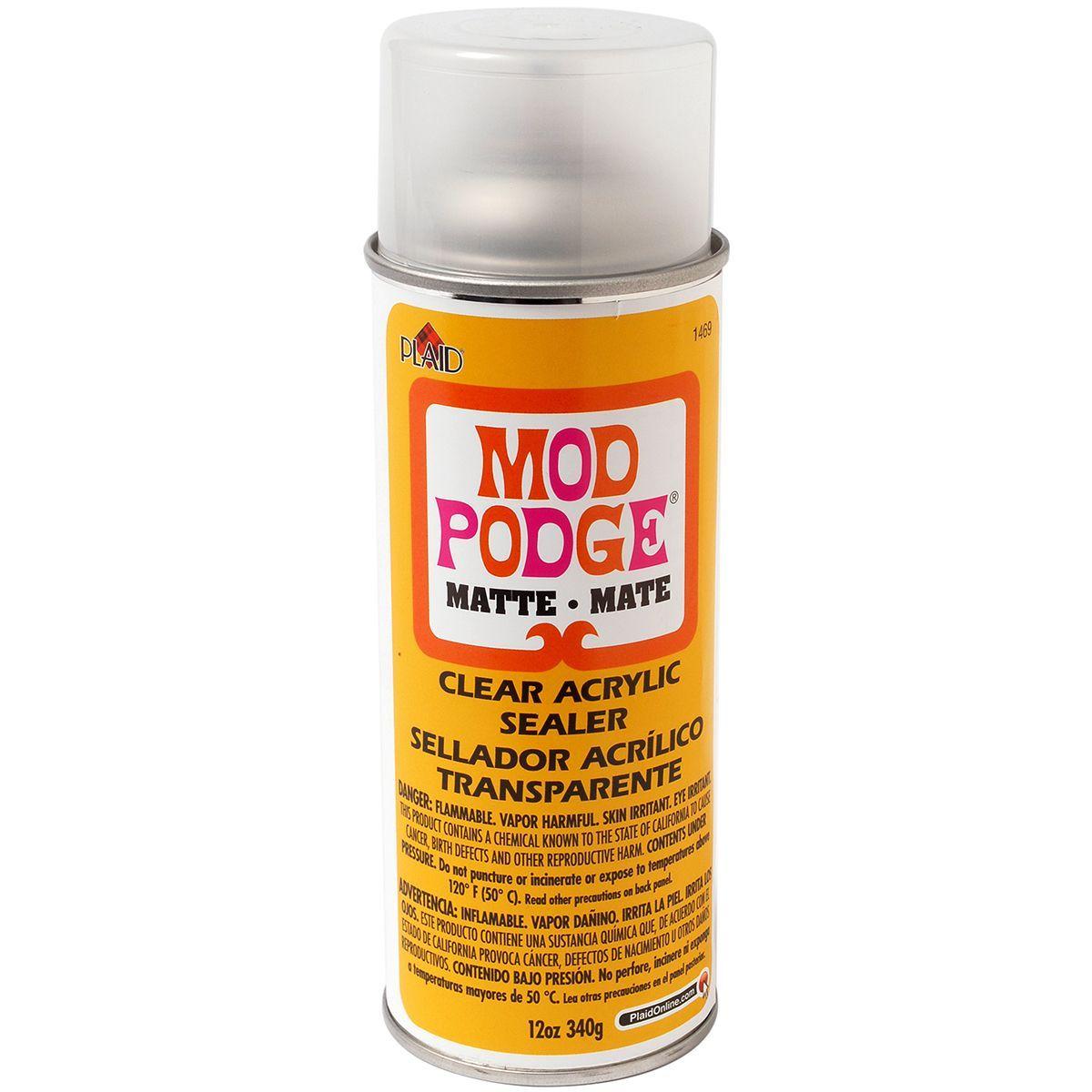 Mod Podge Clear Matte Acrylic Aerosol Sealer (12 ounces