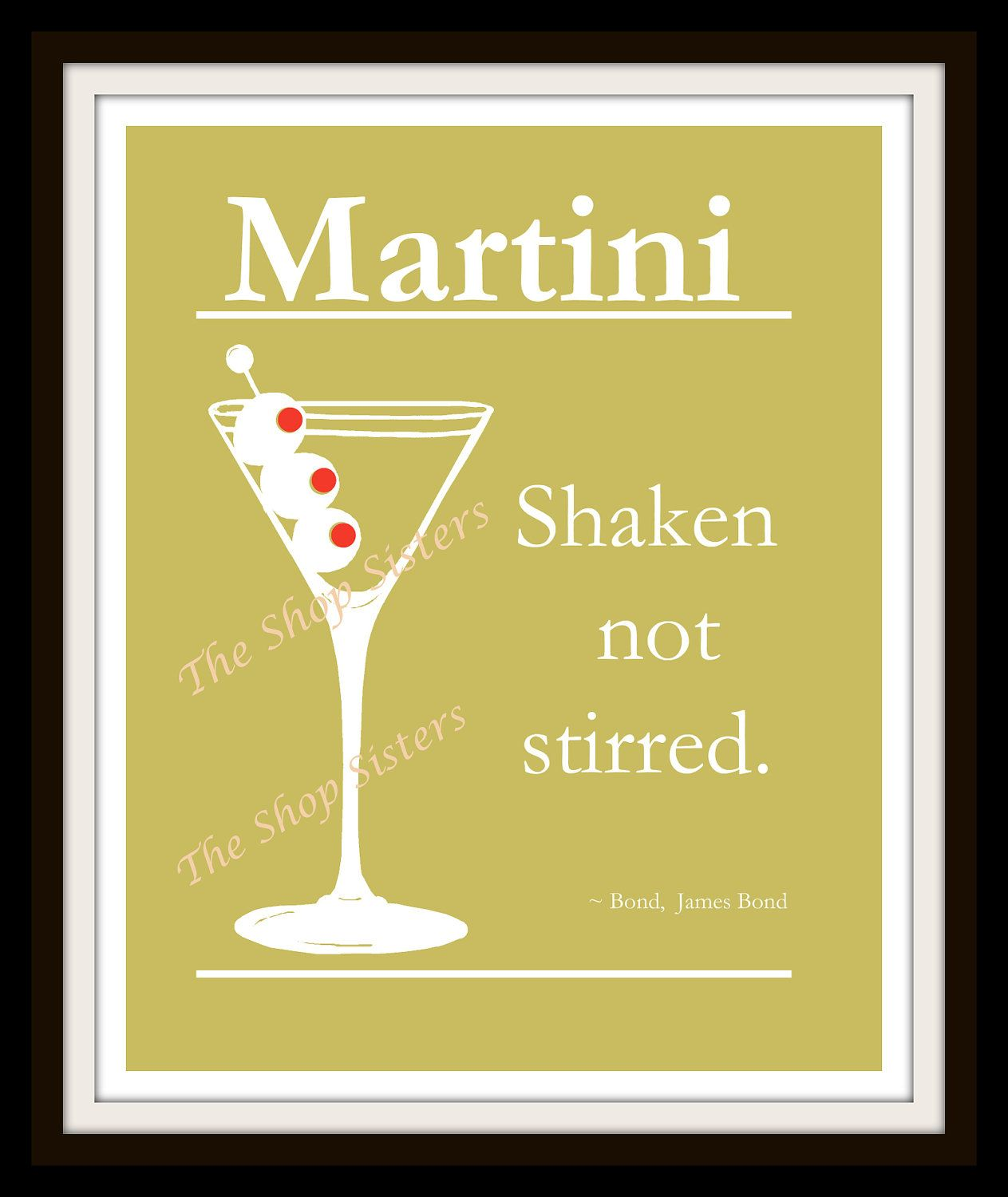 Martini cocktail olives james bond seasons greetings for Cocktail 007 bond