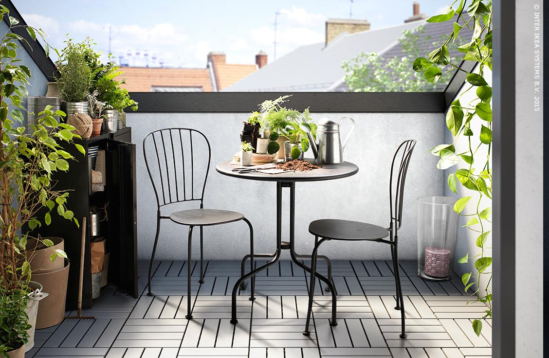Tables Et Chaise D Exterieur Lacko Ikea Jardin Terrasse Ikea In