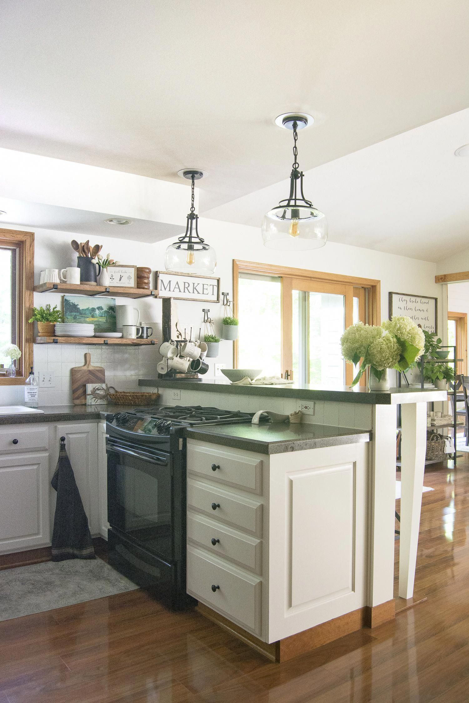 Design Your Own Kitchen: Read This Simple Step By Step DIY Open Shelving Tutorial