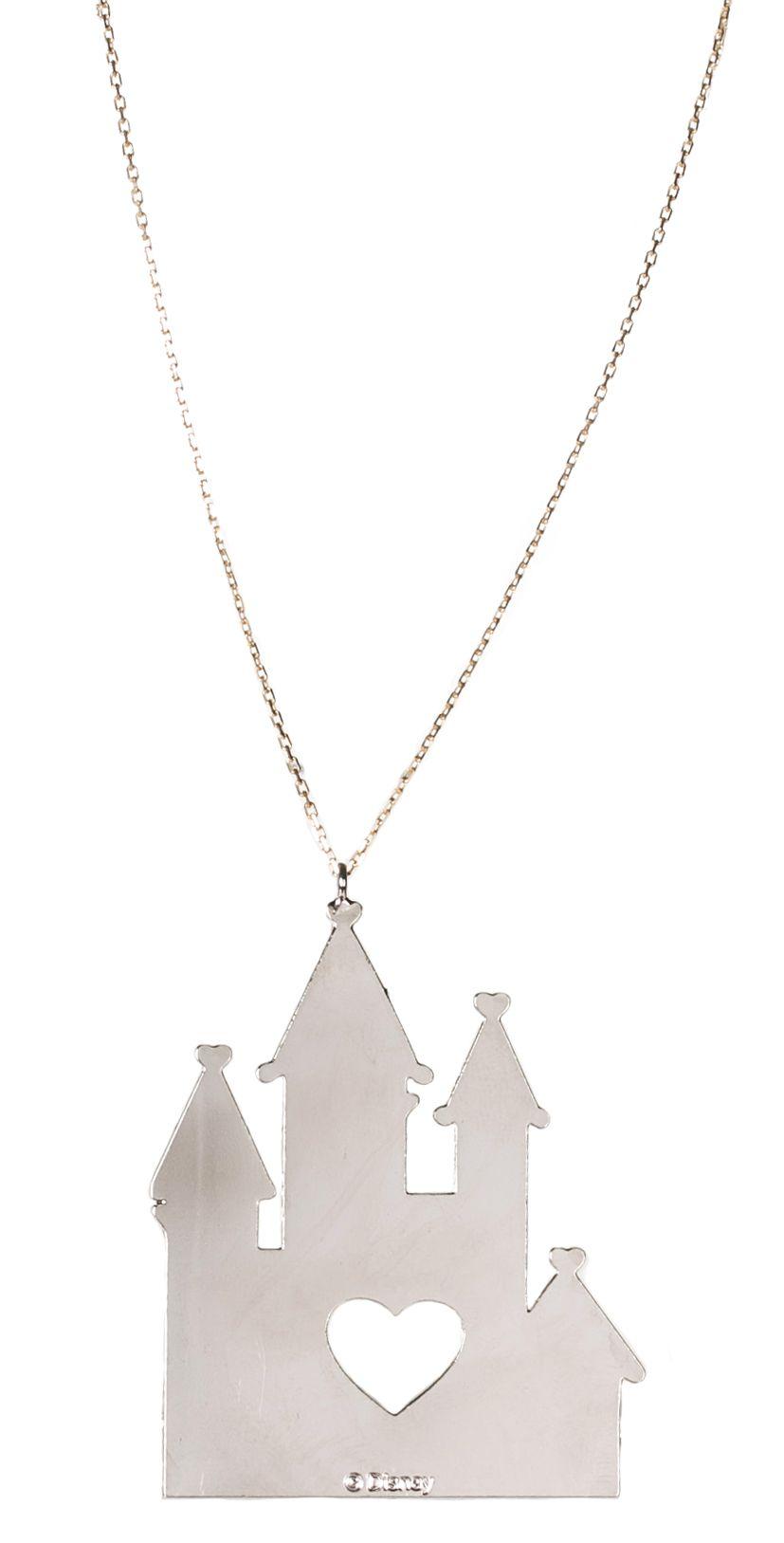 Silver #Disney Castle #Necklace from Gogo Philip xoxo | Disney ...