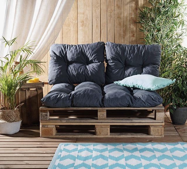 Gifi France Sur Instagram Et Si Vous Realisiez Votre Propre Salon De Jardin Rien De Plus Simple 2 Palettes Salon En Palettes Deco Maison Salon De Jardin